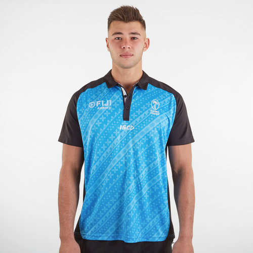 Fiji 2019/20 Players Rugby Polo Shirt