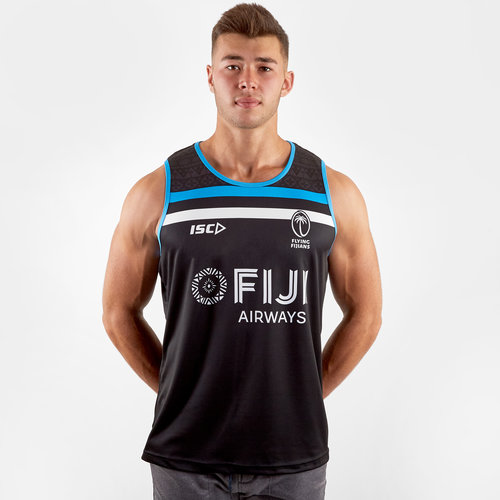 Fiji 2019/20 Players Rugby Training Singlet