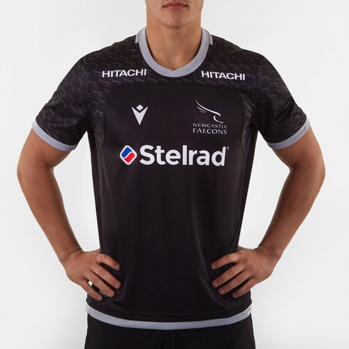 Newcastle Falcons 2019/20 Home S/S Replica Rugby Shirt