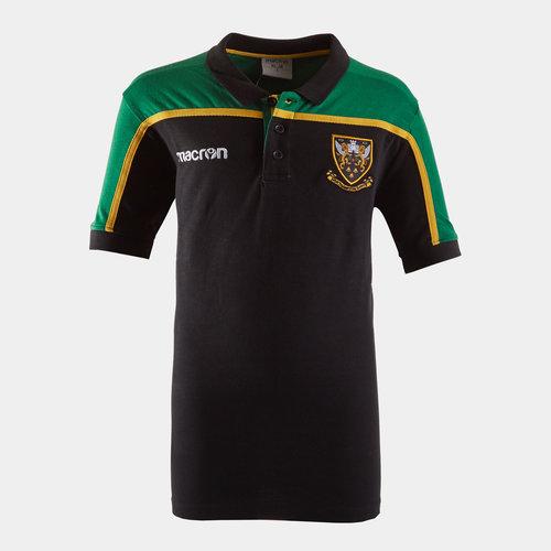 Northampton Saints 2018/19 Kids Travel Polo Shirt
