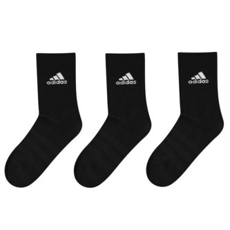 Cushioned Crew Socks 3 Pack Mens