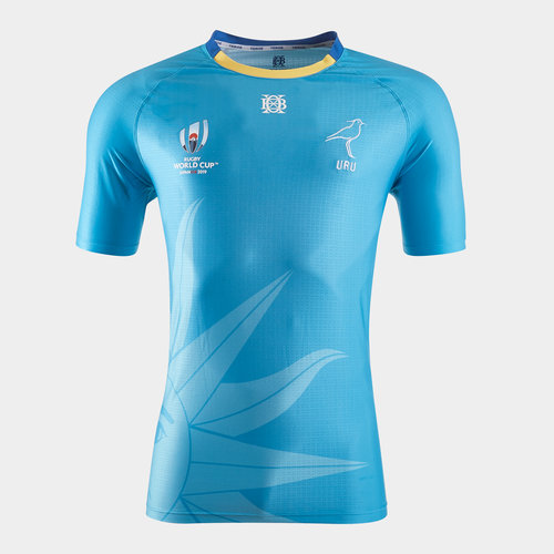 Uruguay RWC 2019 Home S/S Rugby Shirt