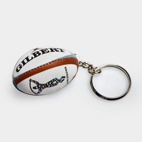 Harlequins Rugby Key Ring