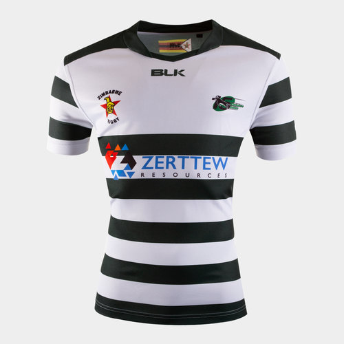 Zimbabwe 2019/20 Home S/S Replica Rugby Shirt
