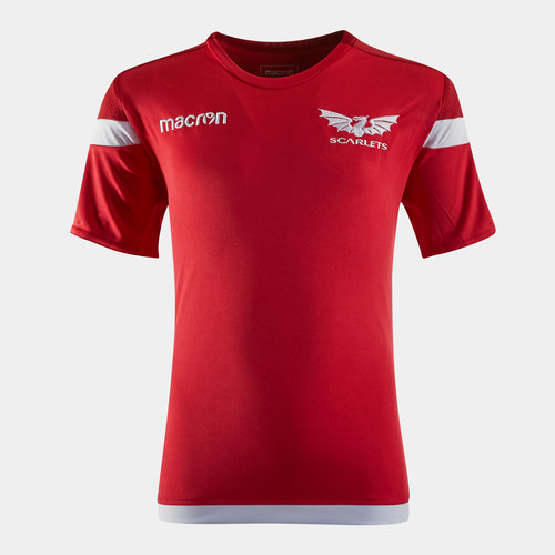 Scarlets 2019/20 Kids S/S Rugby Training Shirt