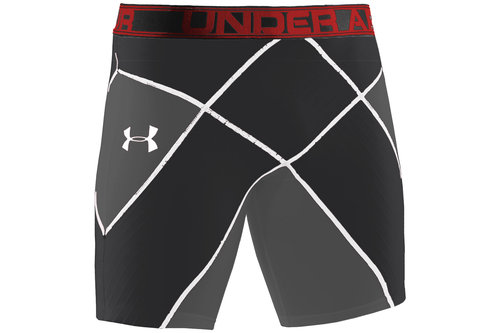 Pro Core Stability Shorts Black/Graphite/Red