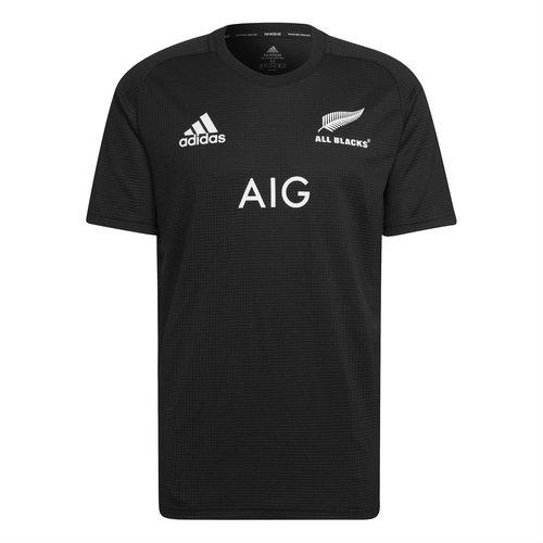 New Zealand All Blacks Mens Home T-Shirt 2021/22