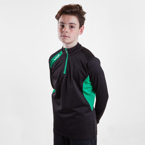 Team Tech Kids Half Zip Mid Layer