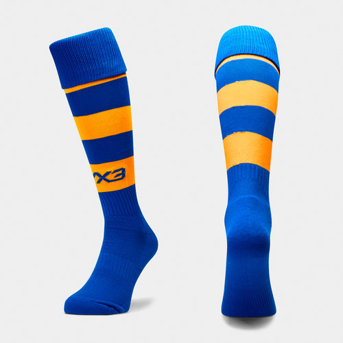 VX3 Kids Hooped Playing Socks
