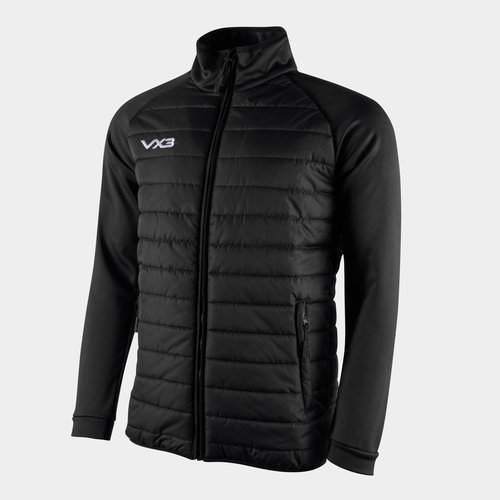 Pro Full Zip Quilted Hybrid Jacket