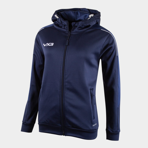Pro Ladies Full Zip Hooded Sweat