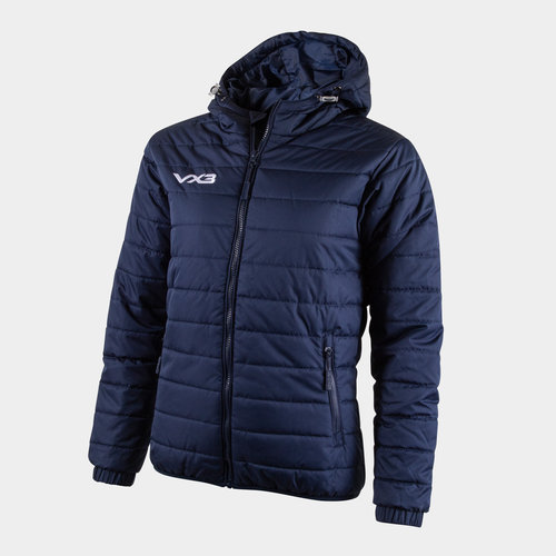 Pro Ladies Full Zip Quilted Jacket