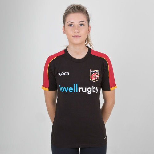 Dragons 2018/19 Ladies Pro Rugby T-Shirt