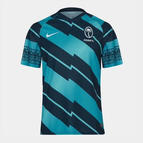 Fiji 7s Away Rugby Shirt 2021 2022