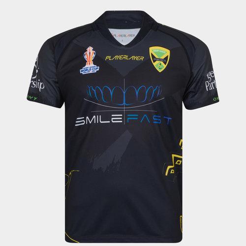 Jamaica RLWC Junior Alternate Shirt 21/22