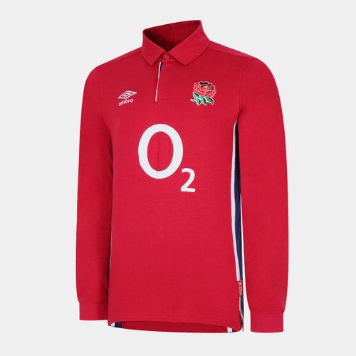 England Mens Alternate L/S Classic Shirt 21/22
