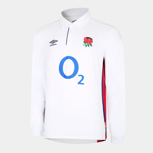 England Home L/S Classic Jersey 21/22 Kids
