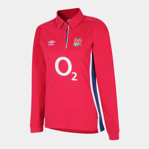 England Ladies Alternate L/S Classic Shirt 21/22