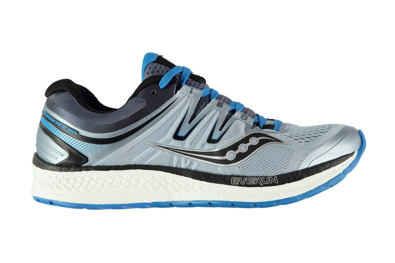 Details about Saucony Mens Hurricane ISO 4 Running Shoes Trainers Sports