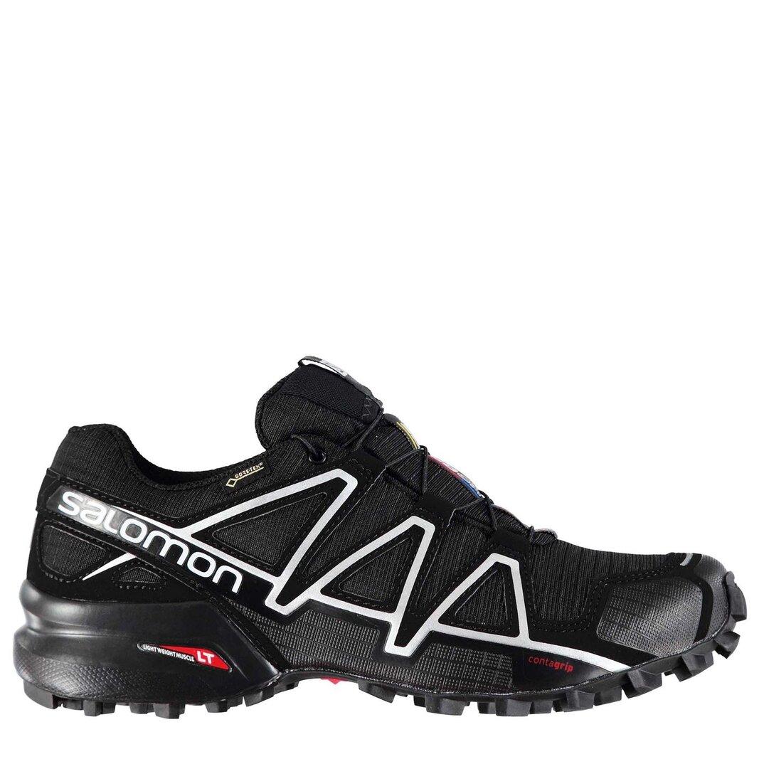 Détails sur Salomon Homme Speedcross 4 GTX Trail Chaussures De Course Sport Baskets Chaussures afficher le titre d'origine