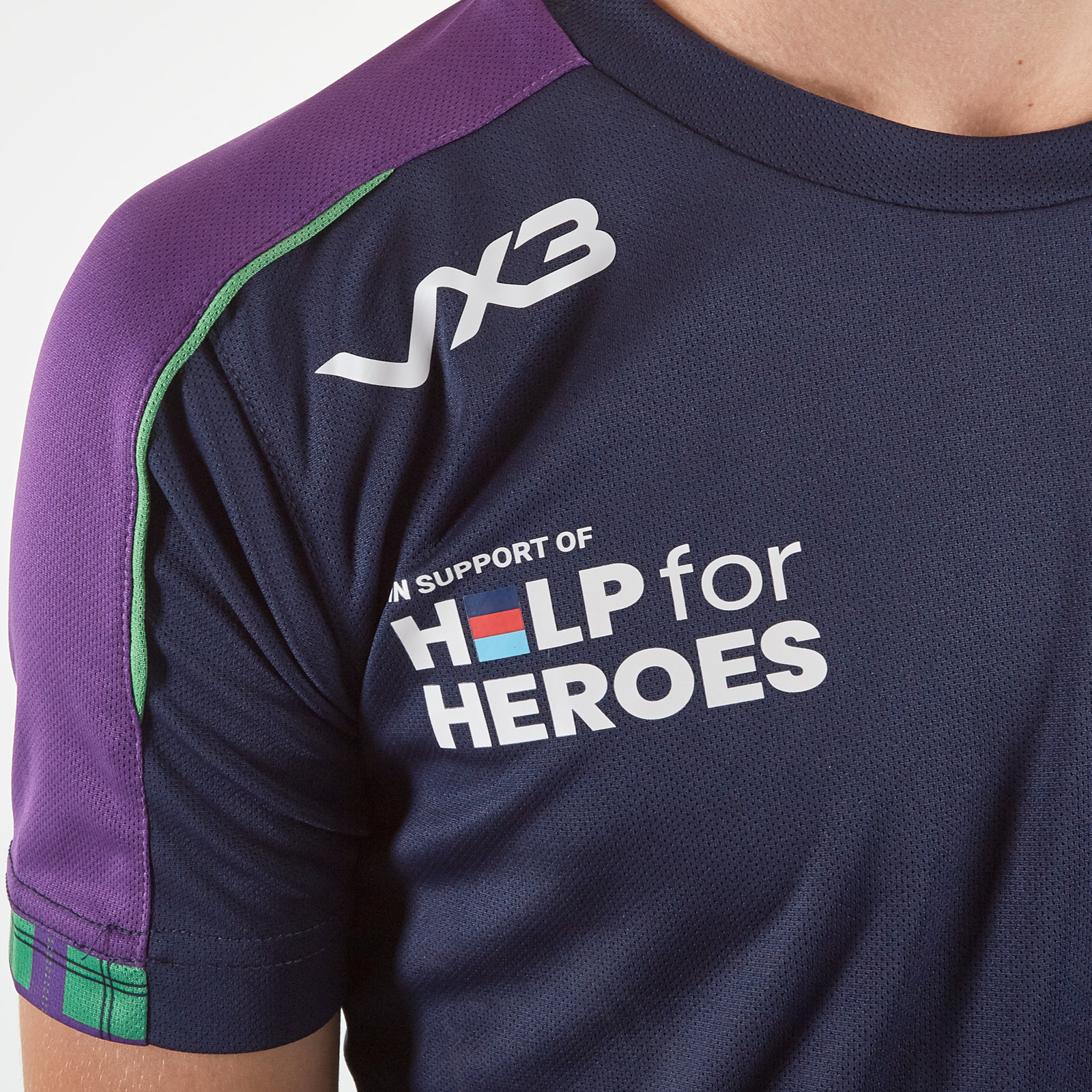 VX3 Unisex Help for Heroes England 2019//20 Kids Rugby T-Shirt Tee Top