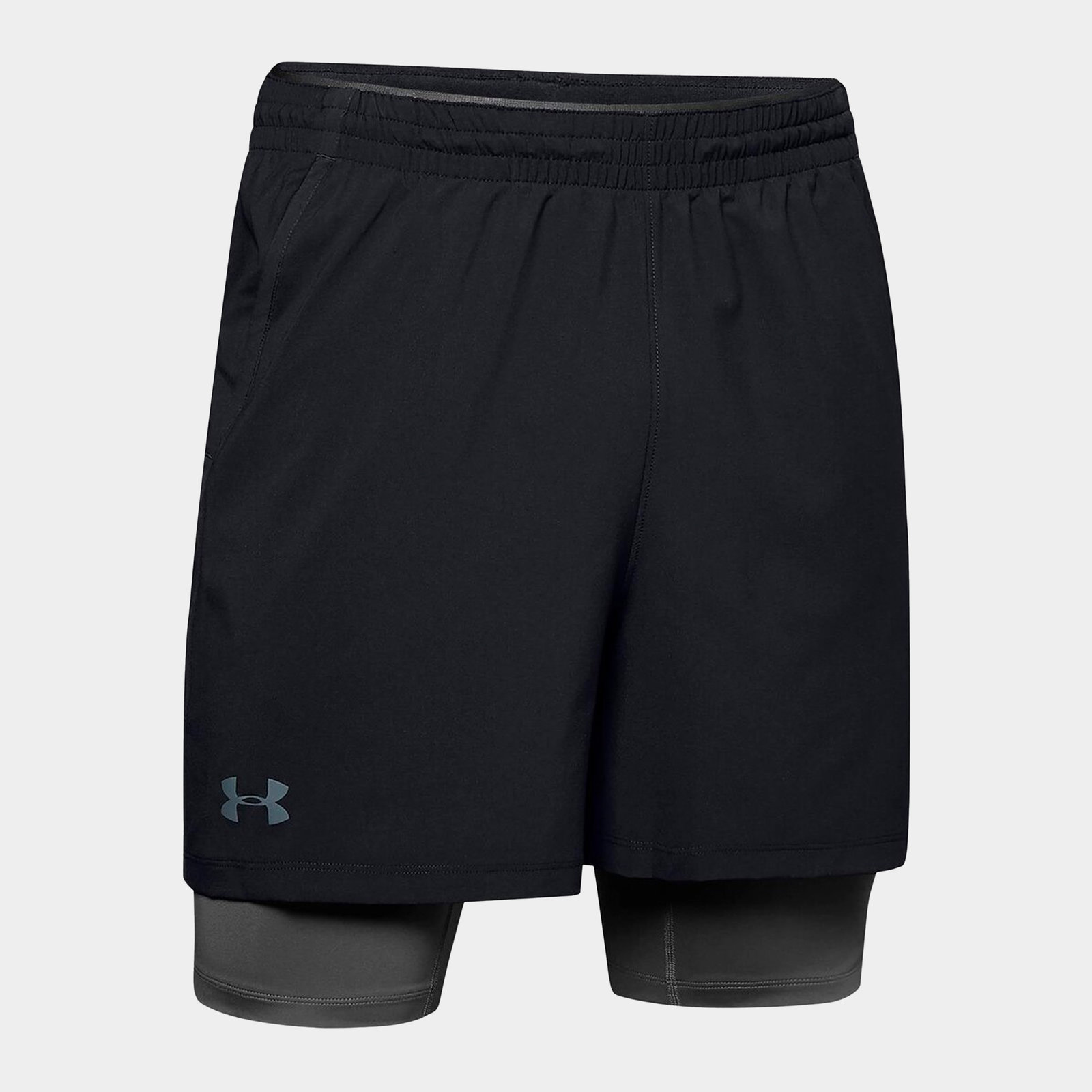 Qualifier 2 in 1 Shorts Mens
