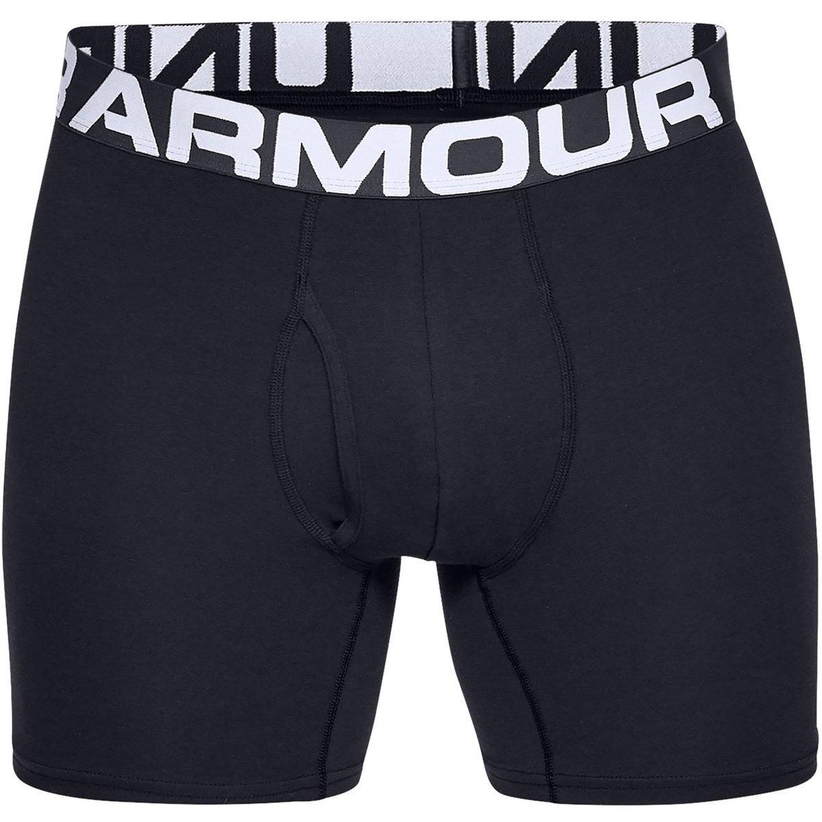 Cotton 3 Pack Boxer Shorts Mens