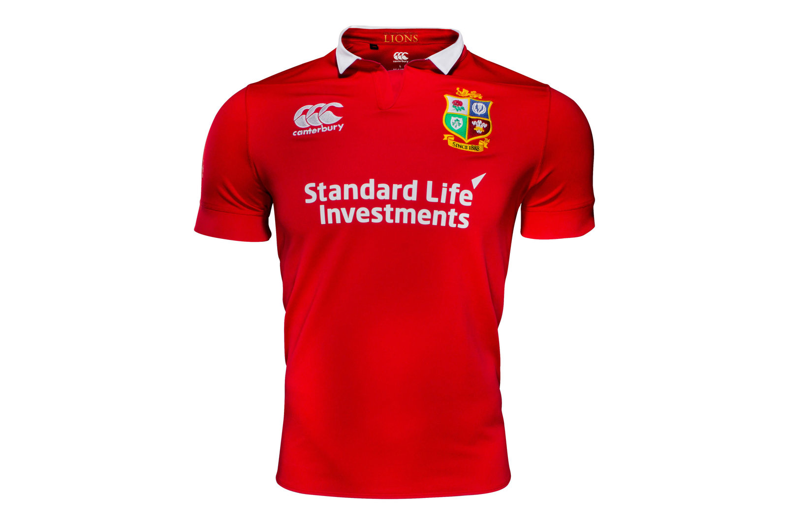 343a0af371c Canterbury Mens British & Irish Lions 2017 Match Day Pro S/S Rugby Shirt  Sports
