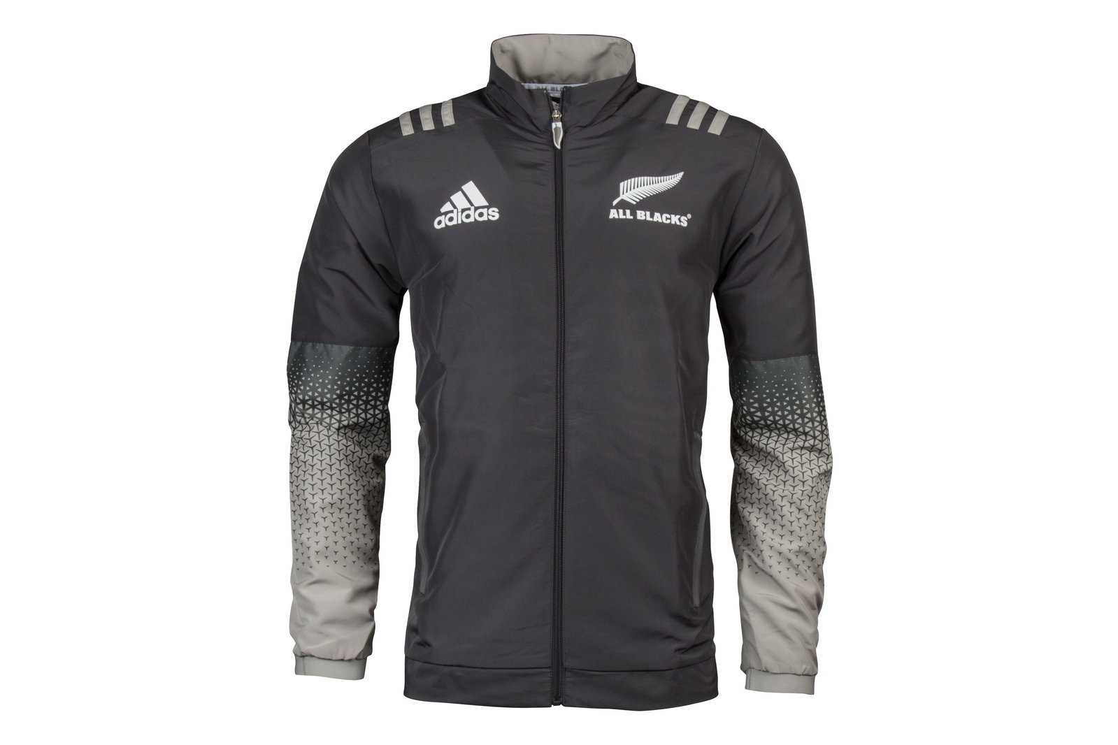 Details about adidas Mens New Zealand All Blacks 201718 Players Presentation Rugby Jacket