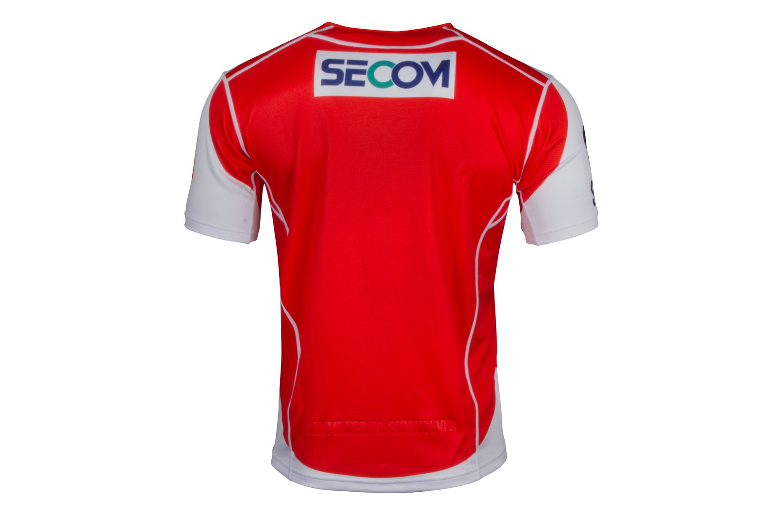 e40981d3f38 Canterbury Mens Sunwolves 2017 Home Super Rugby S/S Shirt Top Training