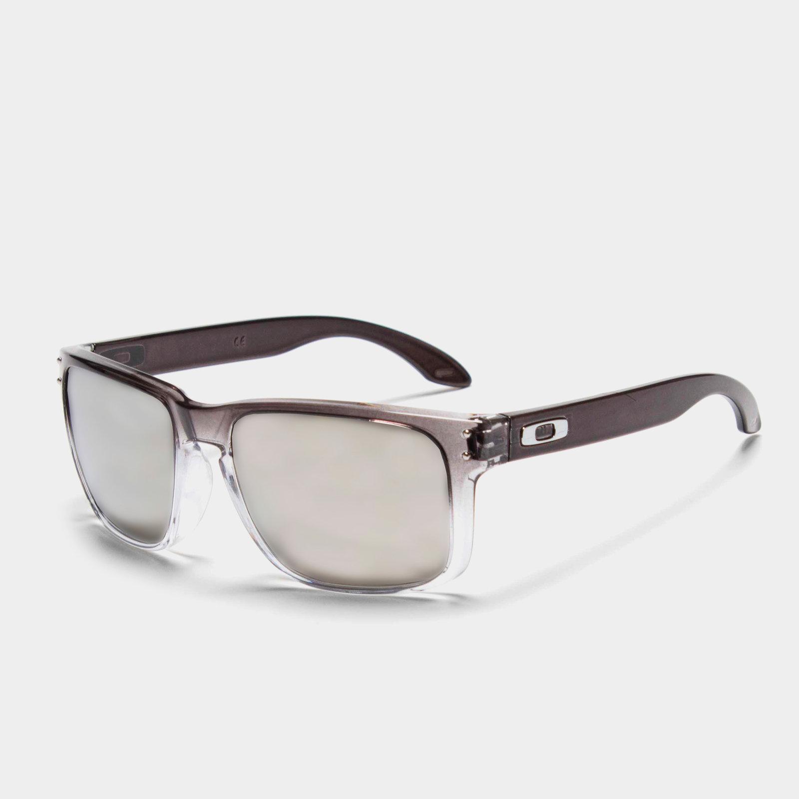 ea0494d118 Oakley Mens Holbrook OO9102-A955 Polarized Dark Ink Fade Sunglasses ...