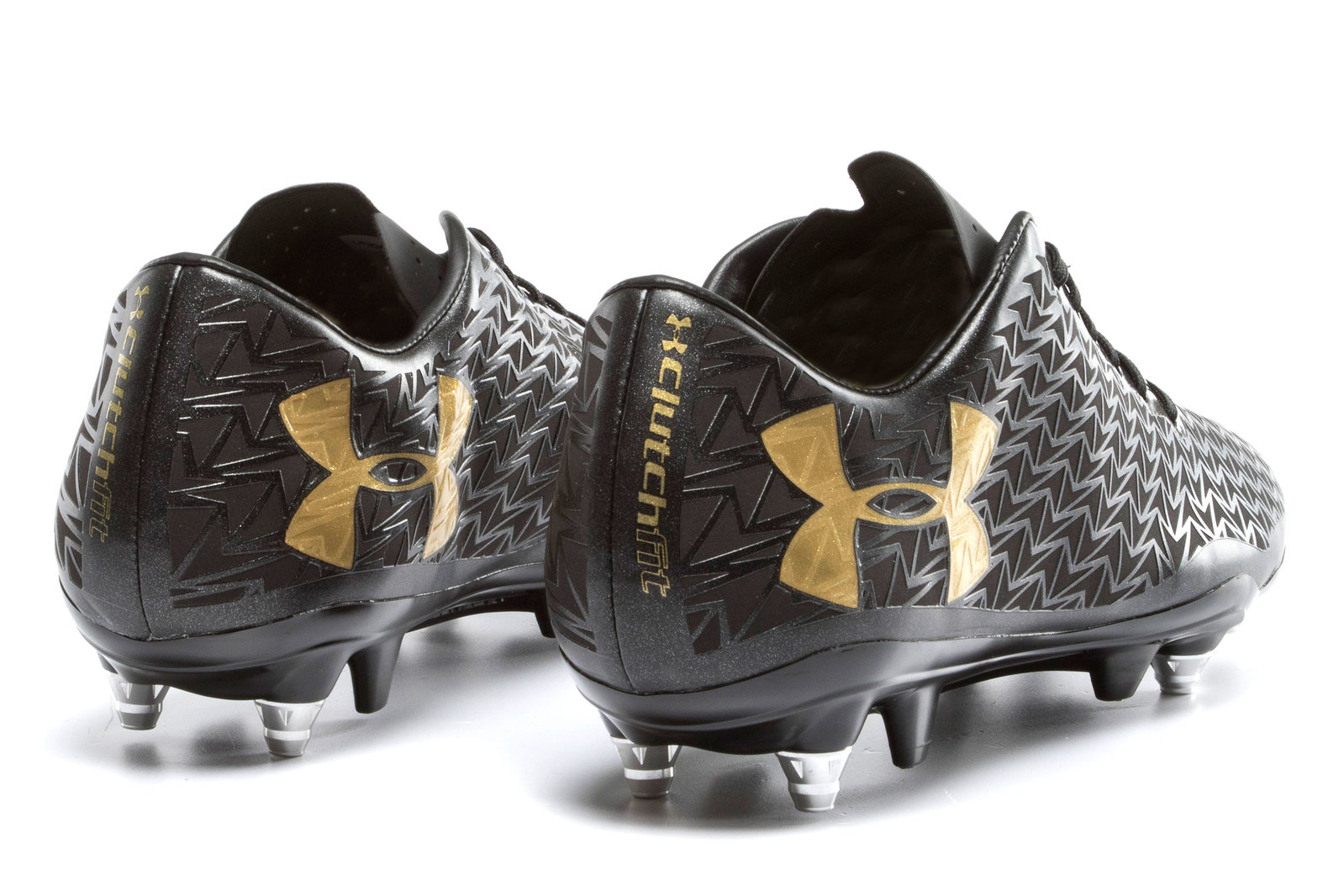 a587b274f5e6 Under Armour Mens Corespeed Hybrid SG Rugby Boots Shoes Footwear Sports  Training