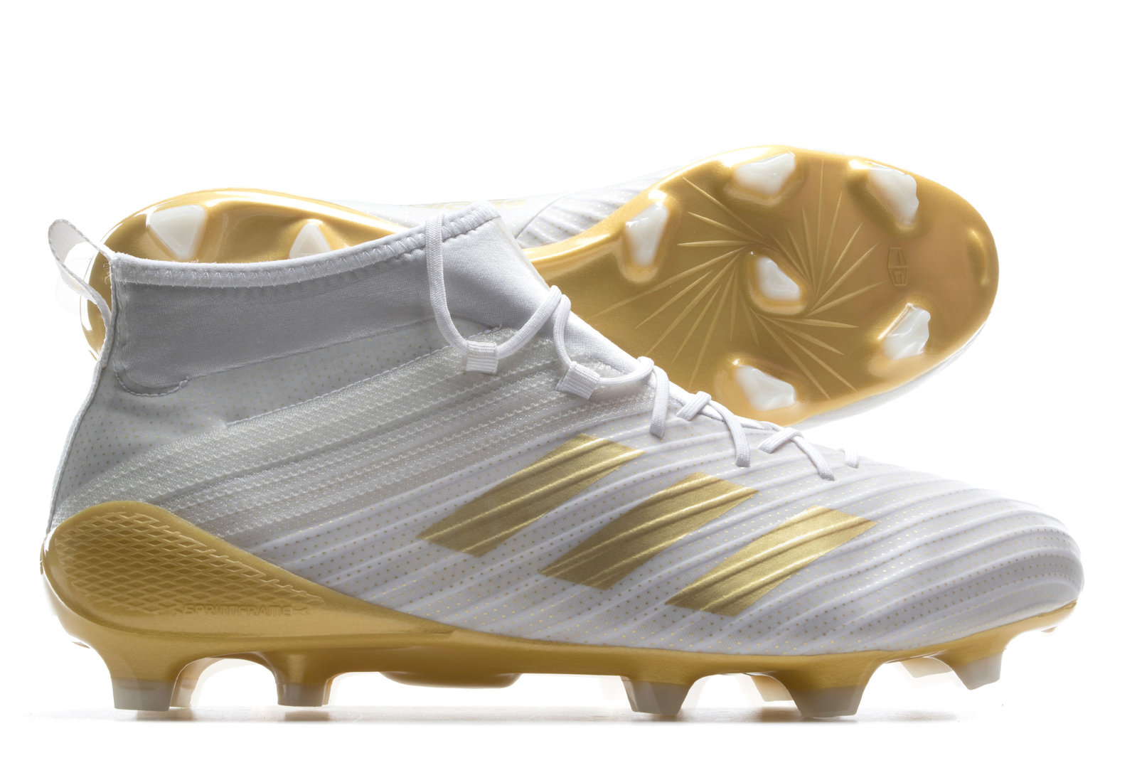 538124e66094 adidas Mens Predator Flare FG Rugby Boots Shoes Footwear Sports Training