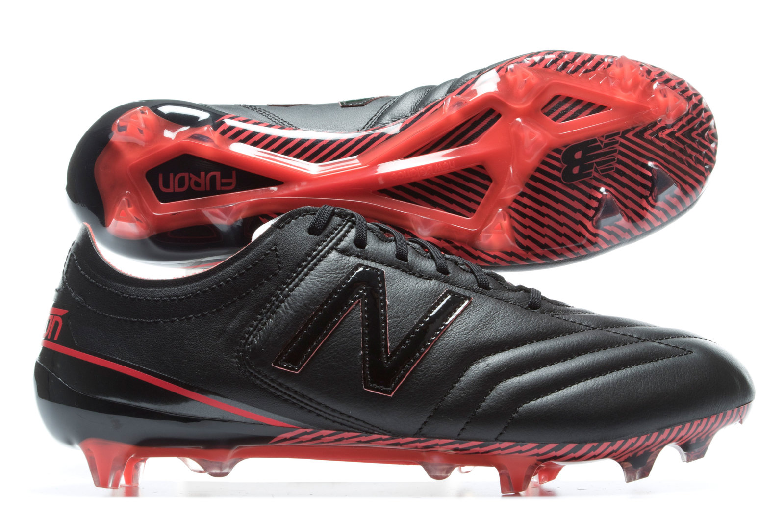 b5bd62d878910 New Balance Mens Furon K-Lite Leather FG Football Boots Shoes Footwear  Sports