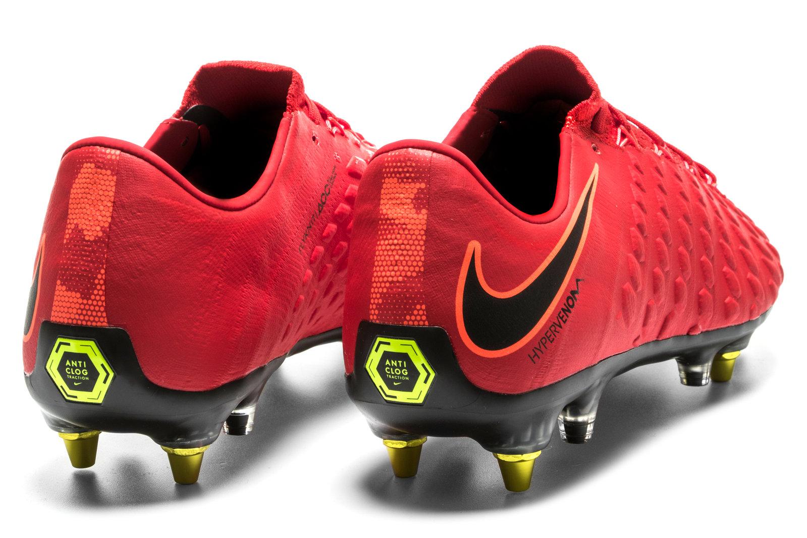 sports shoes be5bf 05ed1 Nike Mens Hypervenom Phantom III Anti-Clog SG Pro Football Boots