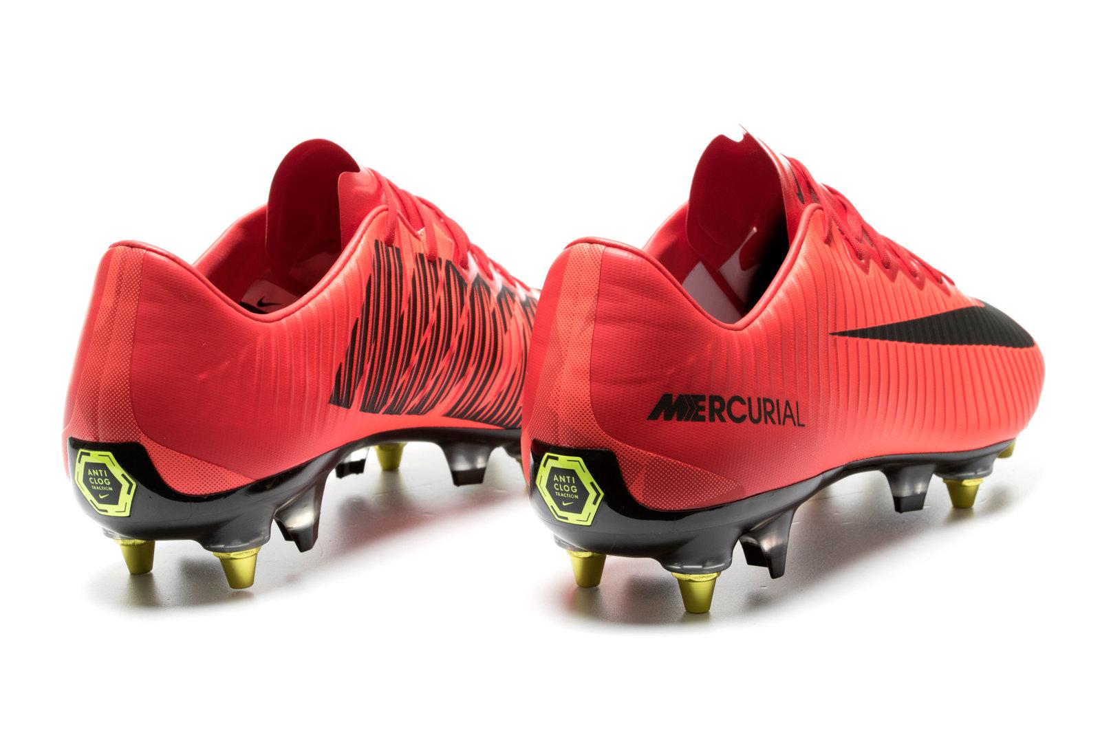 cbabb0b4f Nike Mens Mercurial Vapor XI Anti-Clog SG Pro Football Boots