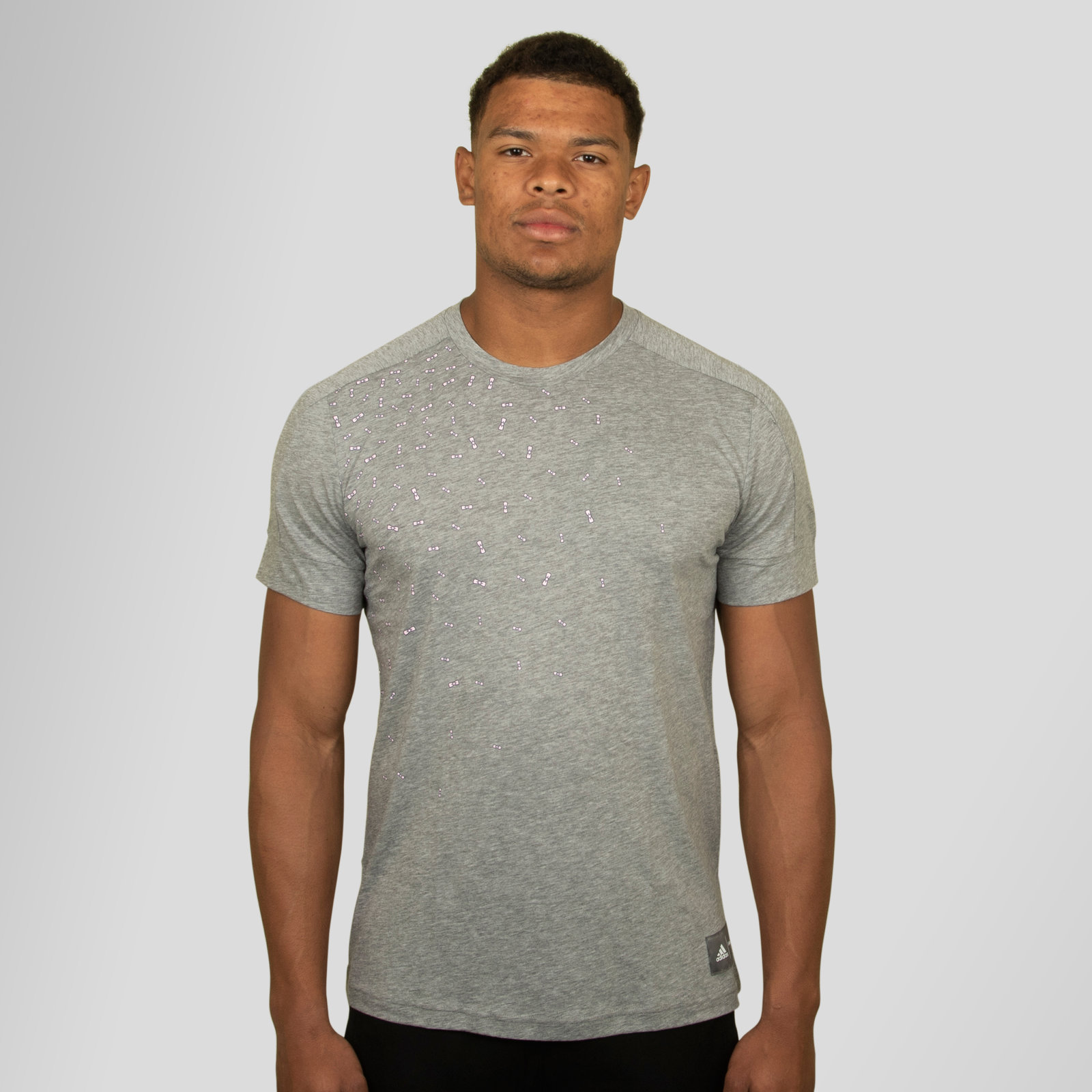 Details zu adidas Mens Eden Park Rugby Training T Shirt Grey Activewear Sports Pants