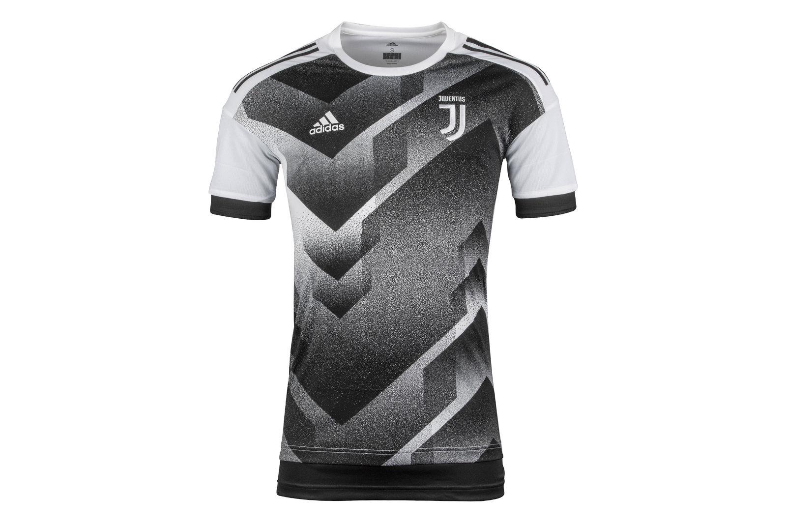 bd857f4303b adidas Mens Juventus 17/18 Pre-Match Football Training Shirt Top Sports