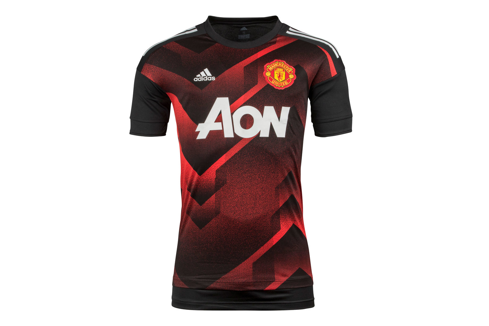 b09beb55252 adidas Mens Manchester United 17 18 Pre-Match Football Training Shirt