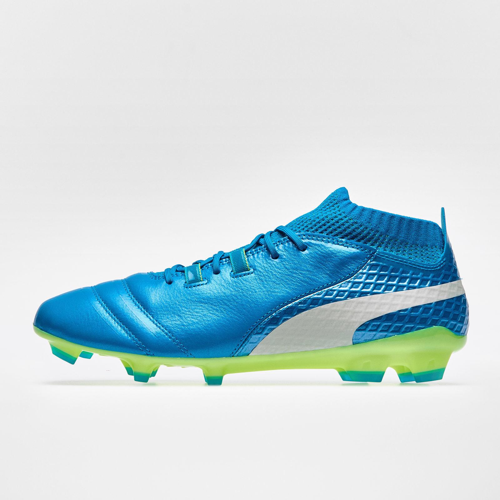 Mens Puma One 17.1 FG Football Boots Sports Studs Trainers Shoes  3e3c0ad5a