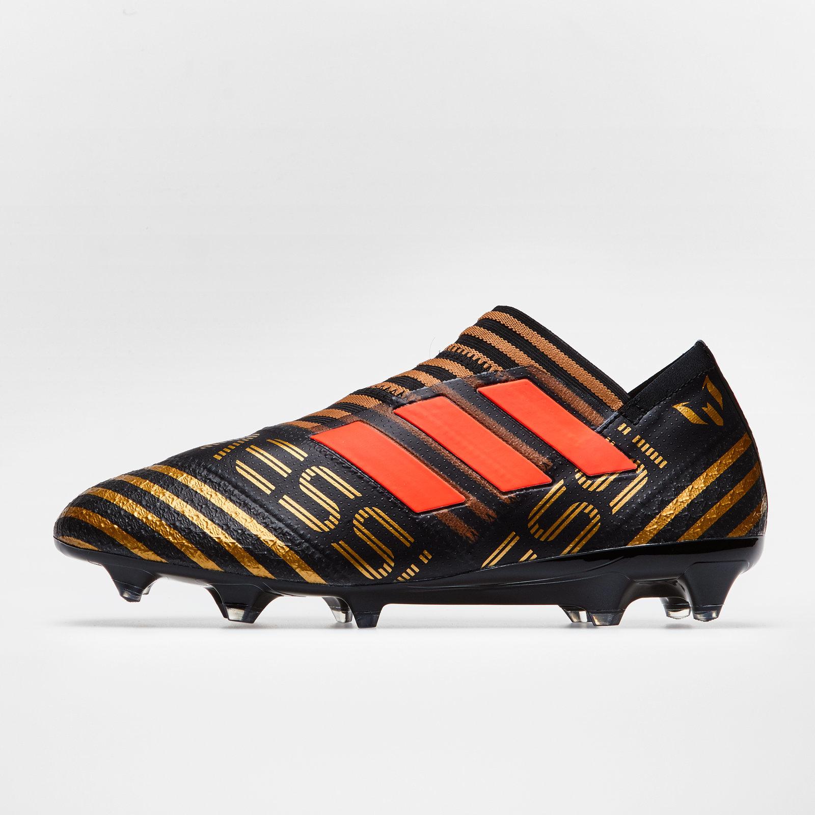 6d77f3fc2 adidas Mens Nemeziz Messi 17+ 360 Agility SG Football Boots Studs Trainers  Black