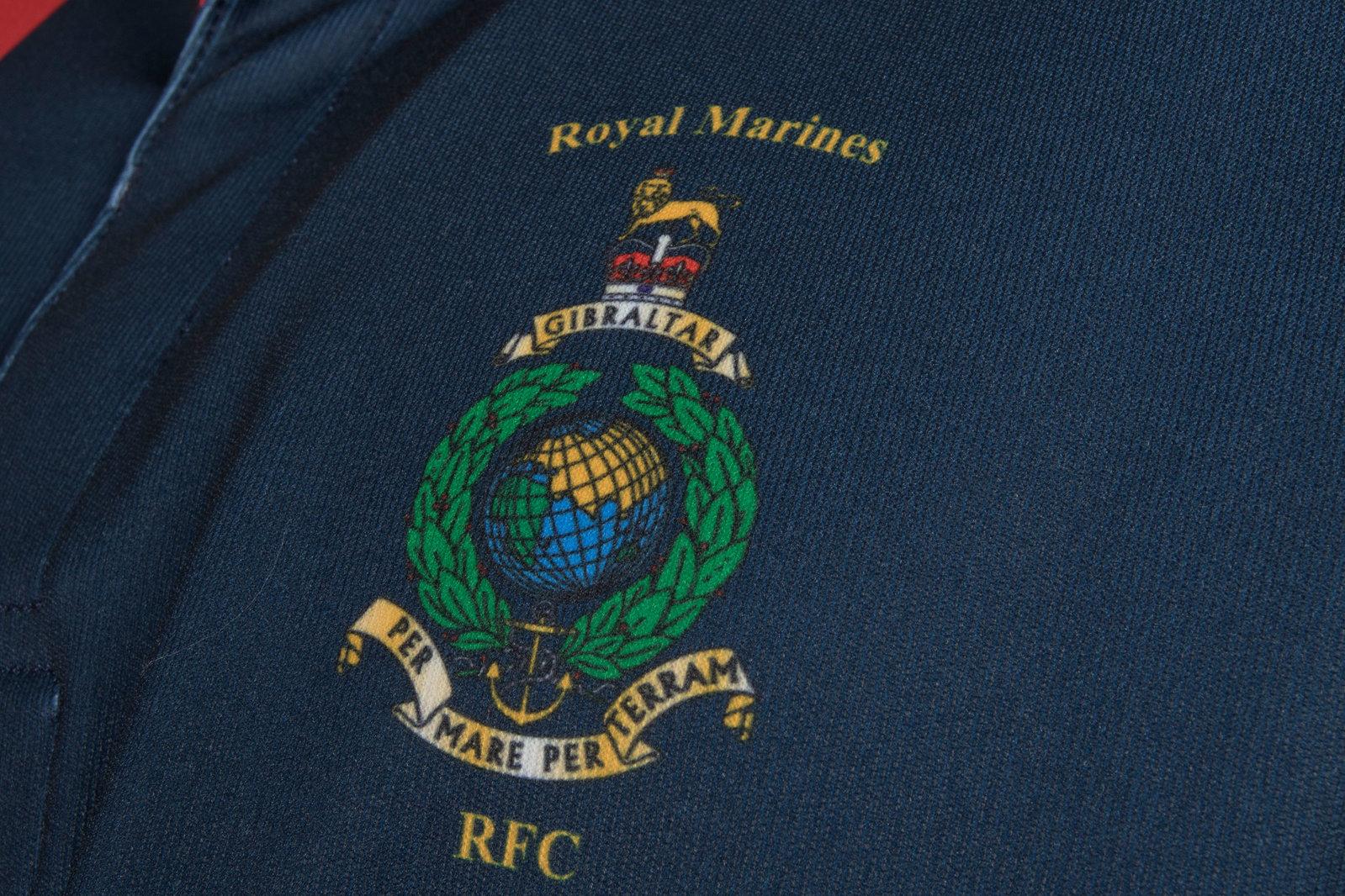 c502603c1 Kitworld Royal Marines Home 2017 18 S S Replica Shirt Top Clothing Sports