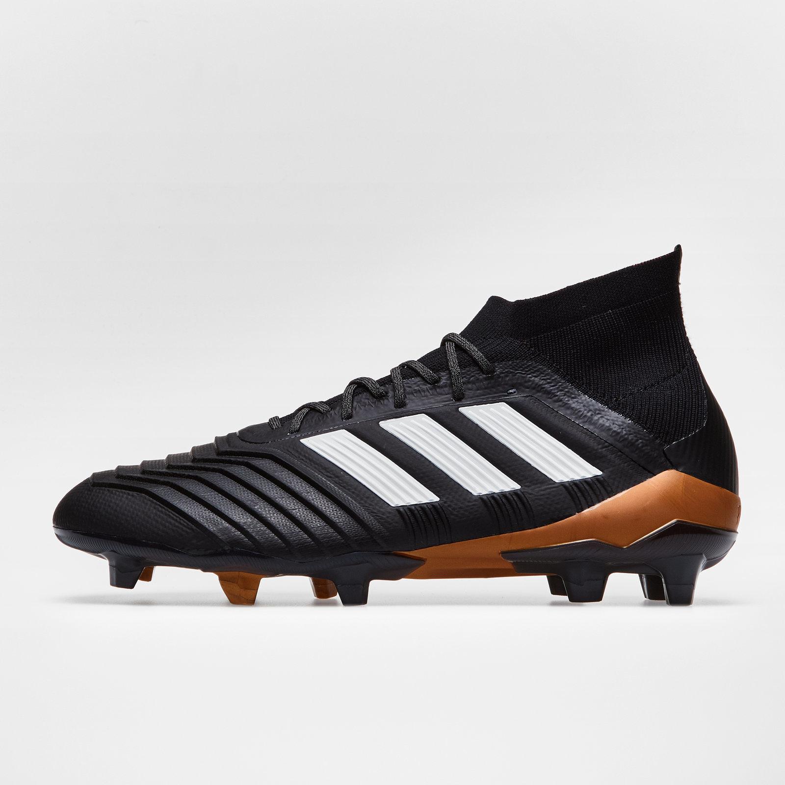 more photos b0783 fd1cf adidas Mens Predator 18.1 FG Football Boots Sports Studs Trainers Shoes
