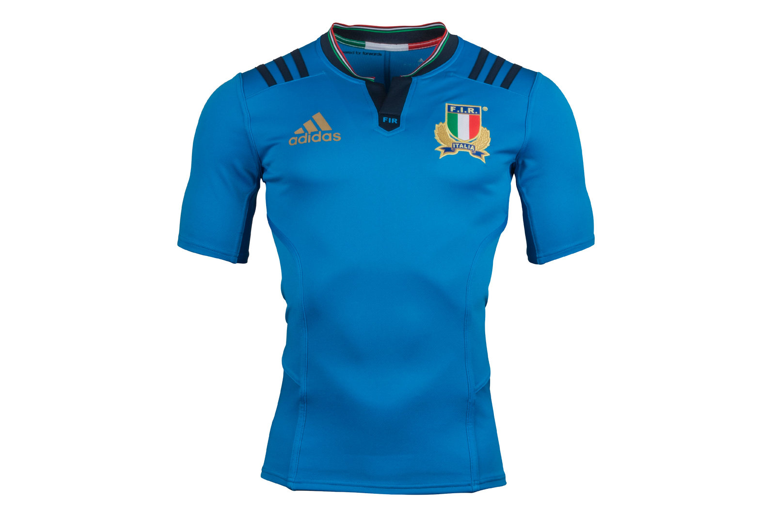 03441ecce25 adidas Mens Italy 2016/17 Home Players Authentic Test S/S Rugby Shirt Top  Sports