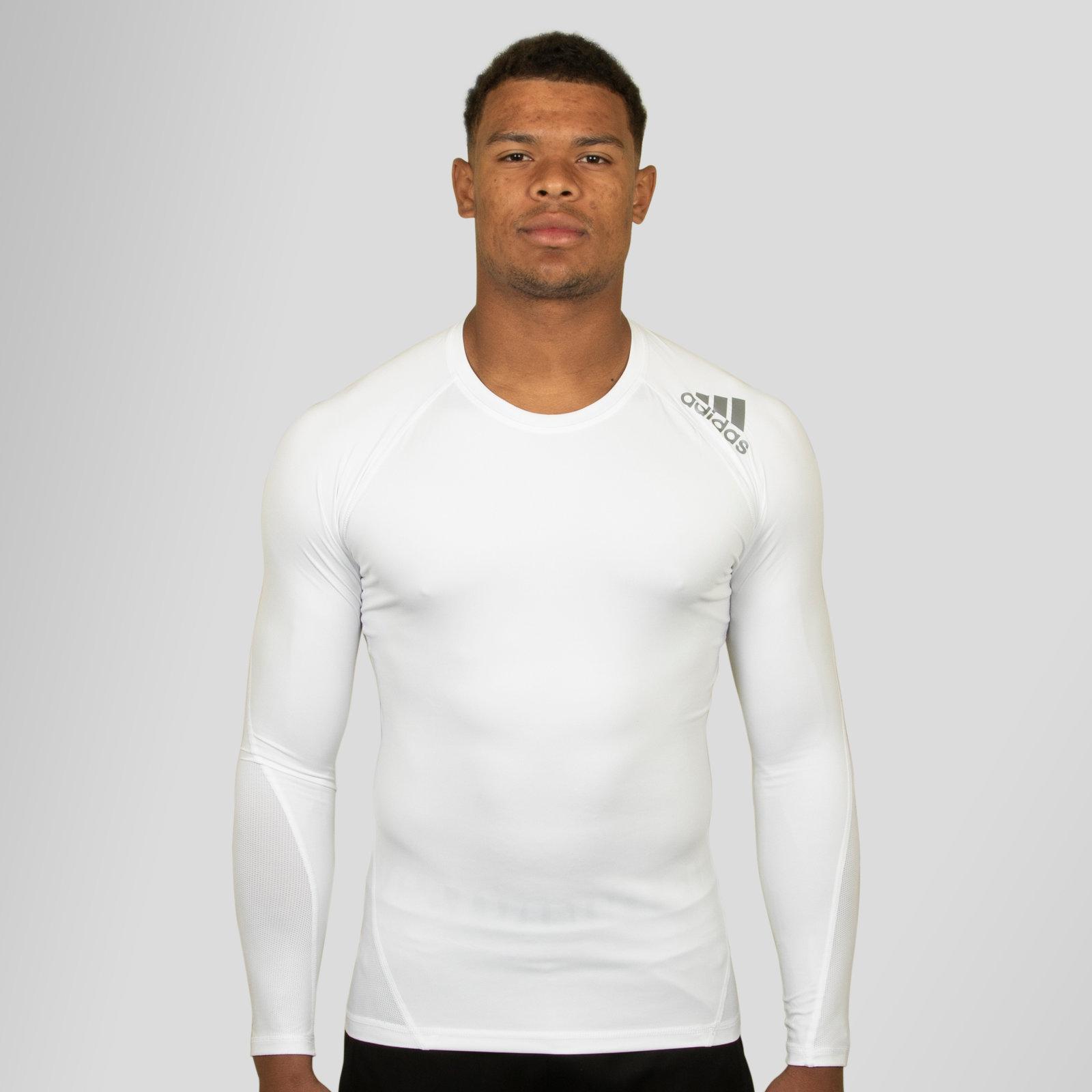 76c605b201911 Adidas Mens Techfit Climacool T Shirt White | Azərbaycan Dillər ...
