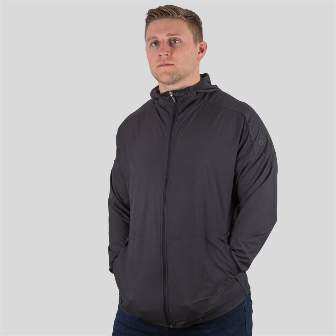 adidas New Zealand All Blacks Zip Hoodie Mens | Rugby | Team