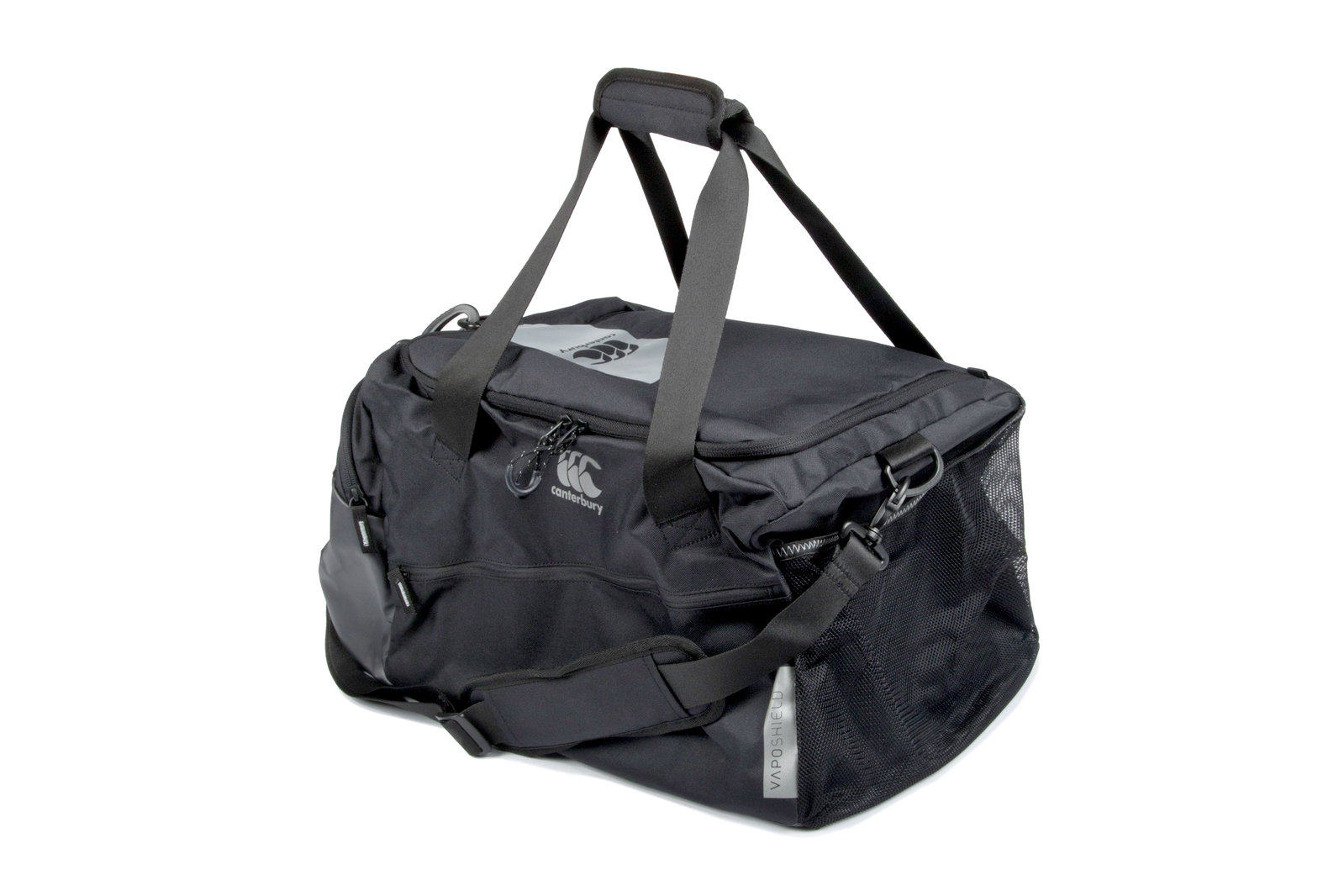 Canterbury Mens Vaposhield Medium Sports Holdall Black Training Active 0816a167dab8f