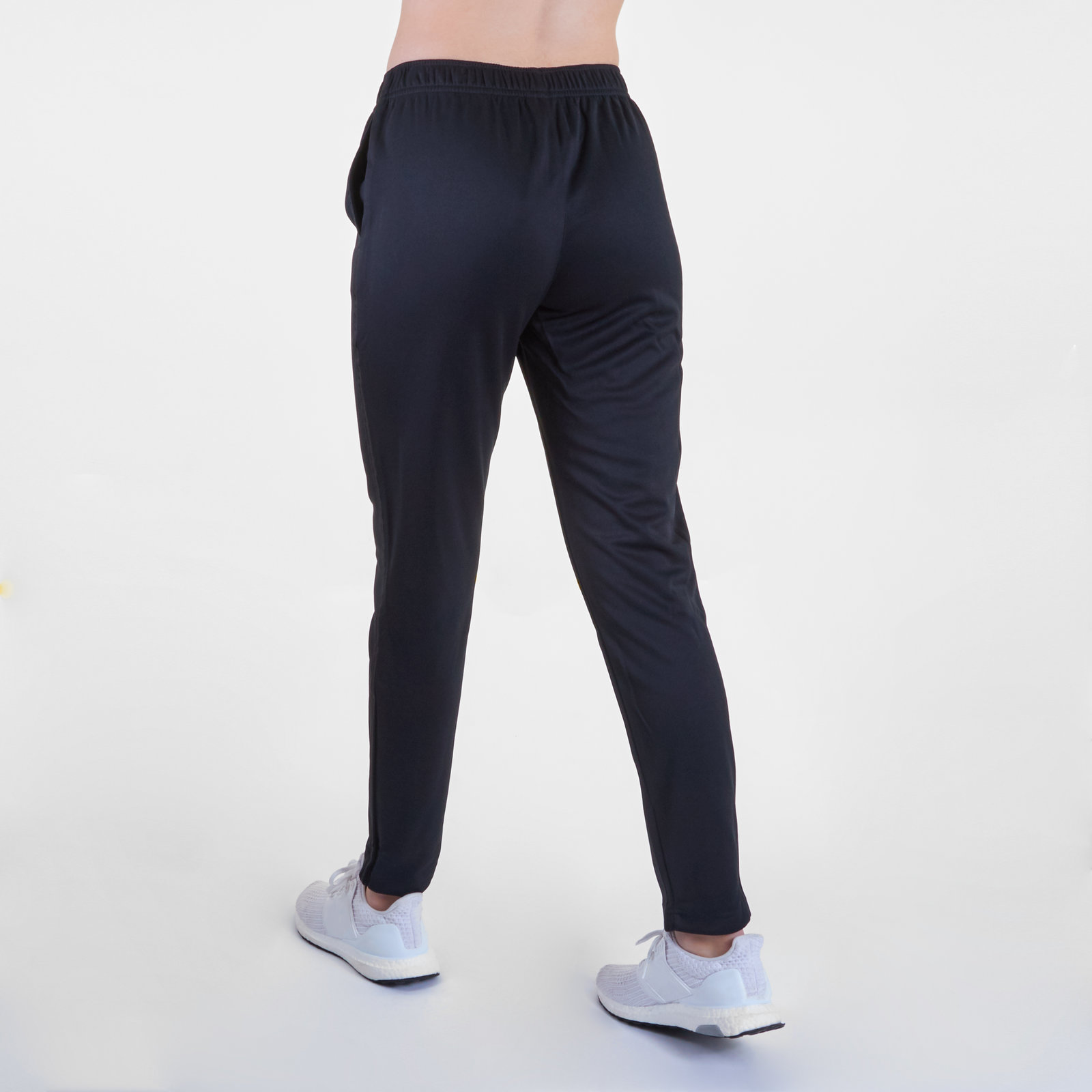 ecdef9257b5 Details about Canterbury Womens Tapered Ladies Poly Knit Training Sports Pants  Trousers Black