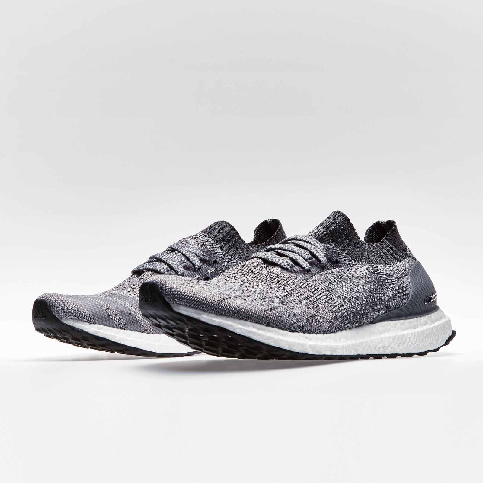 sports shoes 2e4c9 49ccd Details about adidas Mens Ultra Boost Uncaged Running Shoes Sports Trainers  Grey Footwear