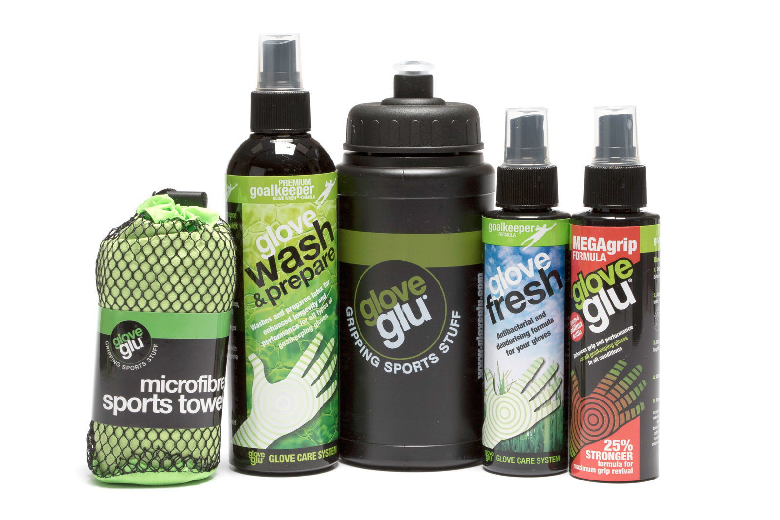 Details about Glove Glu Mens Goalkeeper Wash Revive Bundle 07e5f7bae